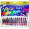 สีออยพลาสเทล ขนาดจัมโบ้ 12สี (Jumbo Oil Pastels)