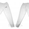 กางเกงขายาว ผ้าร่ม รุ่นแถบหลัง สีขาว