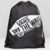 กระเป๋าเป้สะพายหลัง เชือกรูด จาก VANS สีดำ