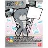 1/144 HGPG 16 Petitgguy Surfacer Gray & Placard