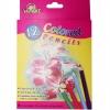 สีไม้ KidArt ดินสอสีไม้สั้น 12 สี/กล่อง (Short Colored Pencil)