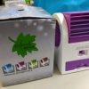 แอร์น้ำหอมพกพา Mini fan air conditioning รวมส่ง EMS