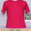 E.เสื้อยืด เสื้อt-shirt คอกลม สีบานเย็น ไซค์ขนาด 32 นิ้ว