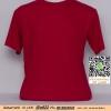 A.เสื้อยืด เสื้อt-shirt คอกลม สีเลือดหมู ไซค์ 10 ขนาด 20 นิ้ว (เสื้อเด็ก)