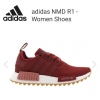 adidas NMD R1 - Women Shoes Mystery Red-Mystery Red-Raw Pink