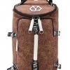 กระเป๋าเป้เดินทาง ผู้ชาย สีน้ำตาล2