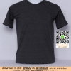 G.เสื้อยืด เสื้อt-shirt สีดำ ไซค์ขนาด 36 นิ้ว