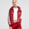 Adidas Originals Floral Three Stripe Track Jacket