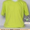 E.เสื้อยืด เสื้อt-shirt คอวี สีเลมอน ไซค์ขนาด 32 นิ้ว