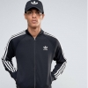 adidas Originals Trefoil Superstar Track Jacket Black