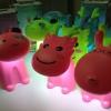 LED Lamp Doll ตุ๊กตาโคมไฟ LED มี 3 แบบ x 3สี ชมพู เขียว ฟ้า