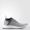 adidas NMD_CS2 PRIME KNIT Color Dark Grey Heather Solid Grey/Footwear White/Shock Pink