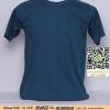 A.เสื้อยืด เสื้อt-shirt คอกลม สีเขียวอมฟ้า ไซค์ 10 ขนาด 20 นิ้ว (เสื้อเด็ก)