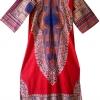 ชุดวินเทจ Dress Dashiki ( Made In Pakistan )