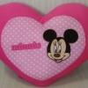หมอนรูปหัวใจสีชมพู (45cm)