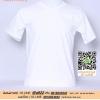 F.เสื้อยืด เสื้อt-shirt สีขาว ไซค์ขนาด 34 นิ้ว