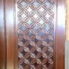 ประตูไม้สักบานเดี่ยว เกรดA รหัสAA04