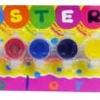 ชุดสีโปสเตอร์ 3 cc 6 สี (Poster Paint)