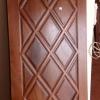 ประตูไม้สักบานเดี่ยว เกรดA,B+ รหัสAA08