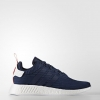 adidas Originals NMD R2 Primeknit Color Collegiate Navy/Footwear White