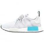 Adidas NMD_R1 - White-White-Bright Cyan