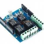 รีเลย์ 4 ช่อง มาตรฐาน 1PCS 4 Channel Relay 5V Shield Module For Arduino DIY Four Channel Relay Electr