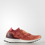 ULTRA BOOST UNCAGED SHOES Color Collegiate Burgundy/Core Pink/Glow Orange