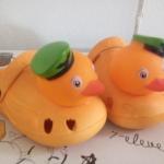 รองเท้าเป็ดsize 20 - สีส้ม