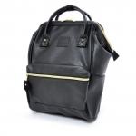 กระเป๋า Anello Mini หนัง รุ่น AT-B1212 สี BLACK (BK)