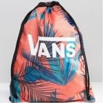 กระเป๋าเป้สะพายหลัง เชือกรูด จาก VANS สีส้ม