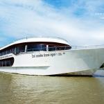 """ทัวร์อยุธยา ไปรถ กลับเรือ กับ เรือ ไวท์ ออร์คิด ริเวอร์ ครูซ """"Ayutthaya White Orchid River Cruise Roundtrip"""""""