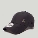หมวก NEW ERA 9Forty Cap NY สีดำ มุมเหล็ก Free Size