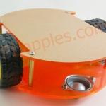 ชุดโครงสร้งหุ่นยนต์ เดินตามเส้น Robot chassis kit