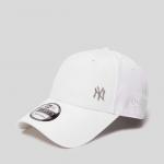 หมวก NEW ERA 9Forty Cap NY สีขาว มุมเหล็ก