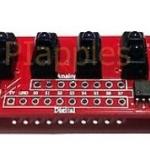 IR Sensor Array Sensor Panel Line Follower Dimension TCRT5000 เซนเซอร์ จับเส้น เพื่อใช้งานกับ robot เดินตามเส้น