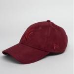 หมวก NEW ERA 9Forty Cap Yankees สีแดง เบอร์รี่ ผ้าหนังกลับ