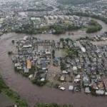 ญี่ปุ่น โดนน้ำท่วมครั้งใหญ่ โดยไม่ทันตั้งตัว