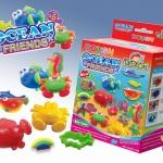 ชุดแป้งโดว์120g +แม่พิมพ์สัตว์ทะเลและผองเพื่อน (Dough Kit 120 g. : Ocean & Friend)