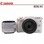 Canon Eos M3 + Lens 22mm STM+15-45 STM (ฟรีSD 16 GB)(สีขาว)