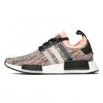 Adidas Originals NMD_R1 W PK - Trainers - core black/clear onix/sunset glow