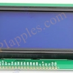 High Quality 12864 128x64 Dots Graphic LCD Display Module Blue Backlight New