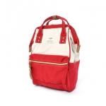 กระเป๋า Anello Mini รุ่น AT-B0935B สี Canvas Red (CRE)