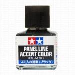 TAMIYA 87131 PANEL LINE ACCENT BLACK สีดำ