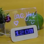 นาฬิกาปลุก Memo board สีฟ้า 250บาท รวมส่ง EMS HOT!!