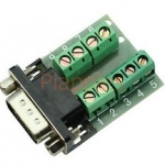 RS232 Serial to Terminal DB9 Male Adapter Connector Signals Terminal Module
