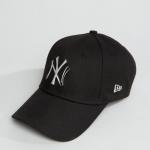 หมวก NEW ERA 9Forty Cap NY ดำ โลโก้ โลหะ