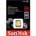Sandisk extreme 16GB (speed 90 MB)