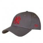 หมวก NEW ERA 9Forty W Cap NY สีเทา แดง