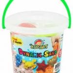 ทรายปั้นธรรมชาติ 400g. + แม่พิมพ์ทะเล (Sea Collection Dynamic Sand Fruit 400 g. 4 Colors + 2 Molds)