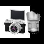 Panasonic GF8 + Lens 12-32 mm OIS + Lens 35-100 mm OIS (Silver)